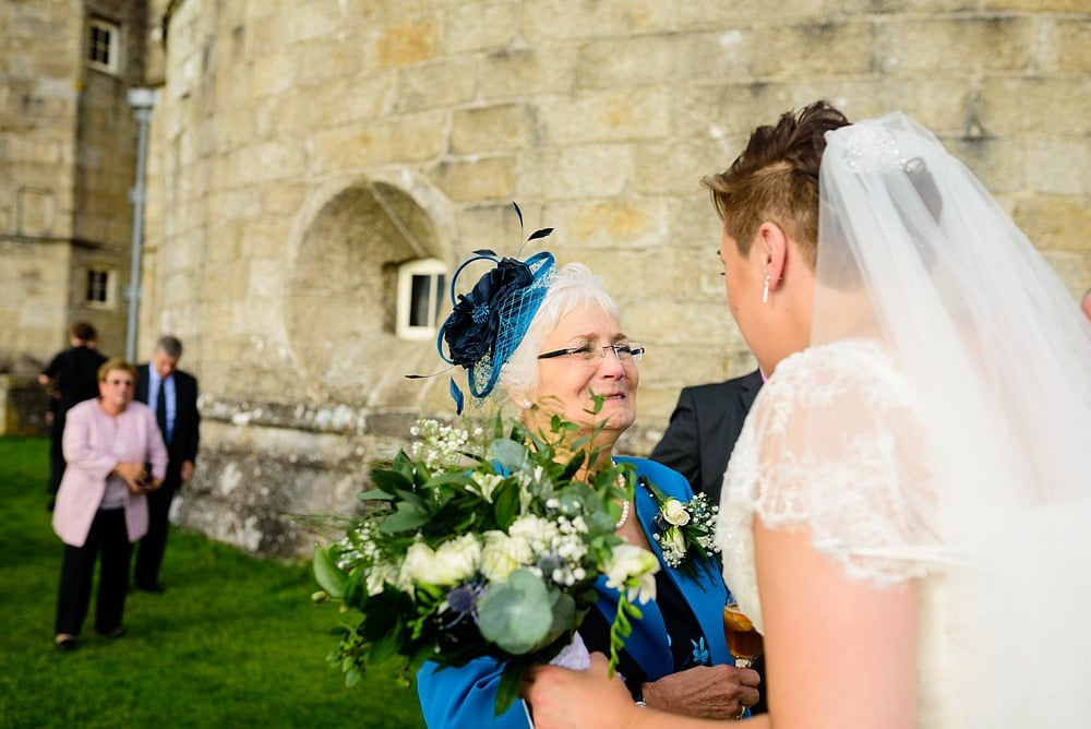 Candid wedding photography at Pendennis Castle 62
