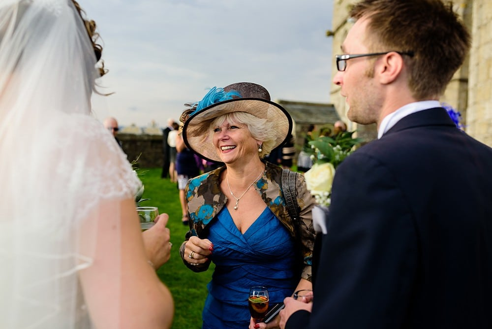 Candid wedding photography at Pendennis Castle 64