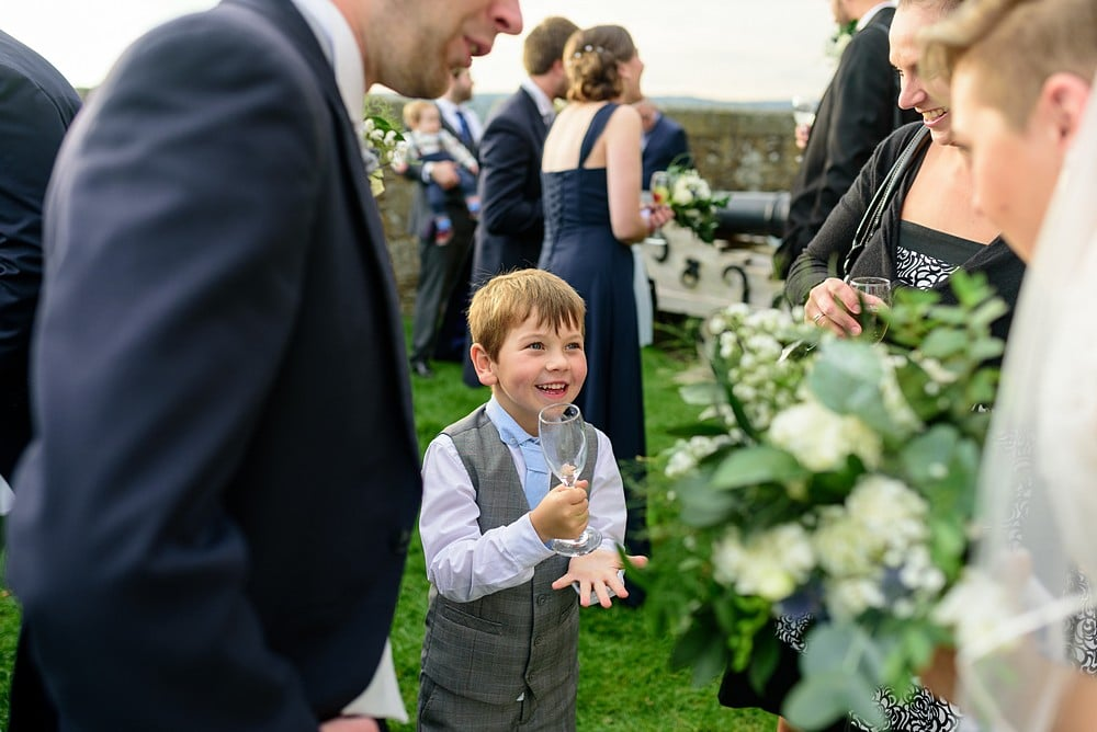 Candid wedding photography at Pendennis Castle 70