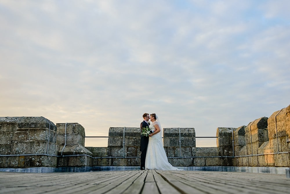 Dave & Ellen's wedding at Pendennis Castle 89