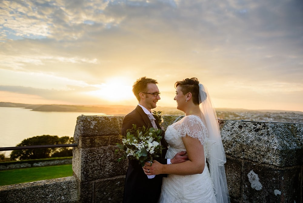 Dave & Ellen's wedding at Pendennis Castle 92