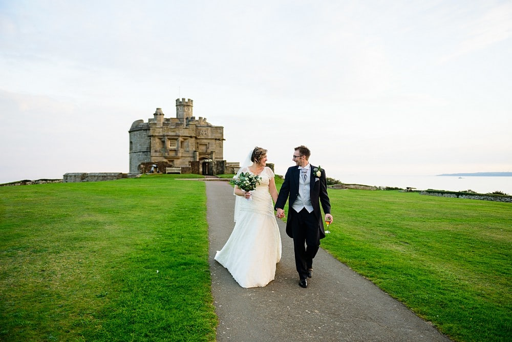 Dave & Ellen's wedding at Pendennis Castle 94