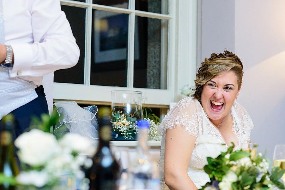 fun wedding at Pendennis Castle in Falmouth 98