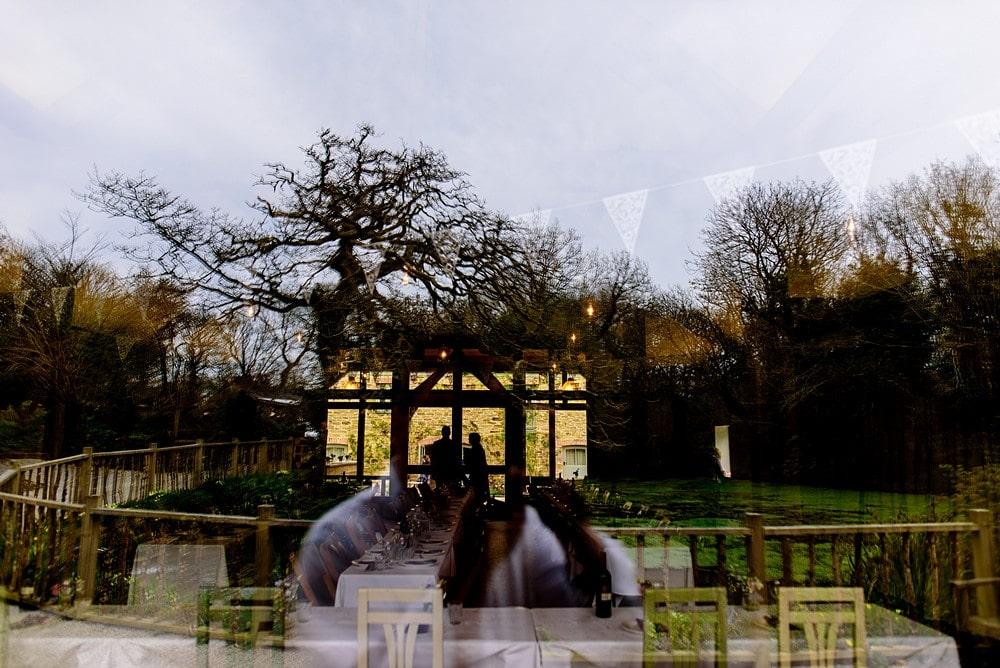 Reflection shot at Nancarrow Farm in Cornwall 12