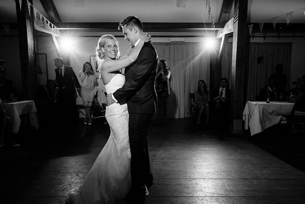 Wedding first dance at Nancarrow Farm 130