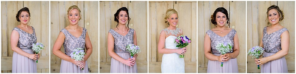 Stunning Bride and Bridesmaids at Nancarrow Farm 18