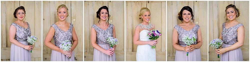 Stunning Bride and Bridesmaids at Nancarrow Farm 18