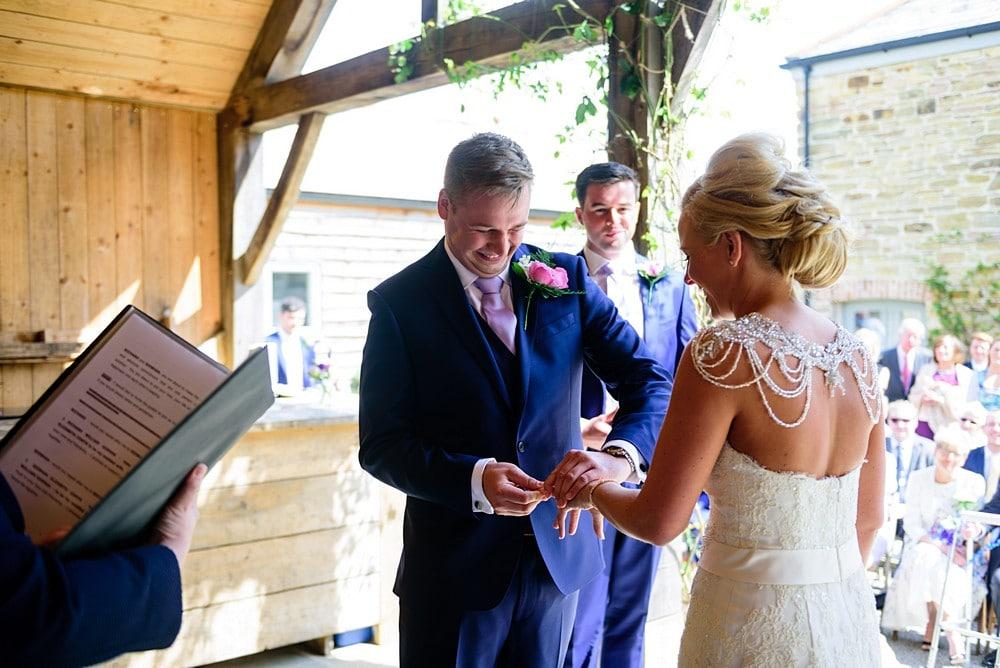 Rustic wedding at Nancarrow Farm 33