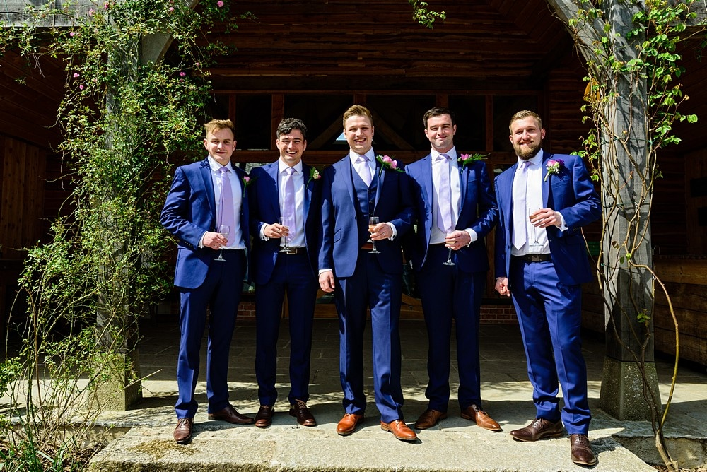 Groomsmen at Nancarrow Farm 51