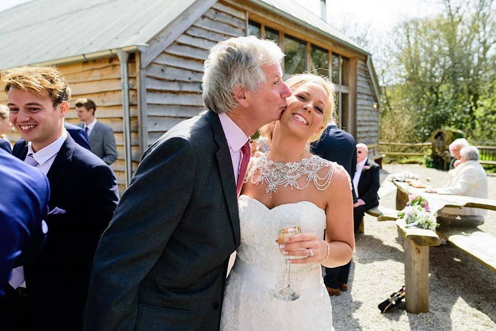 Candid wedding photography at Nancarrow Farm 54