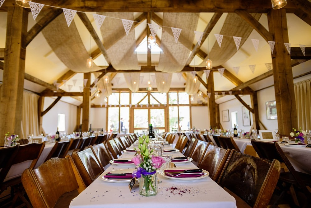 wedding table layouts at Nancarrow Farm 60