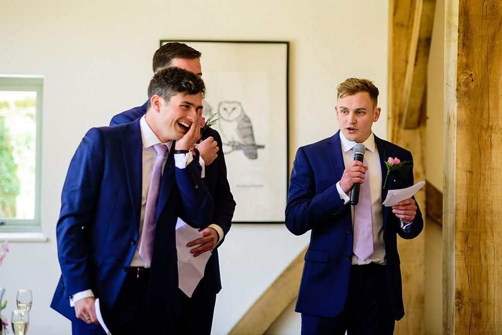 Funny wedding speeches at Nancarrow Farm 83