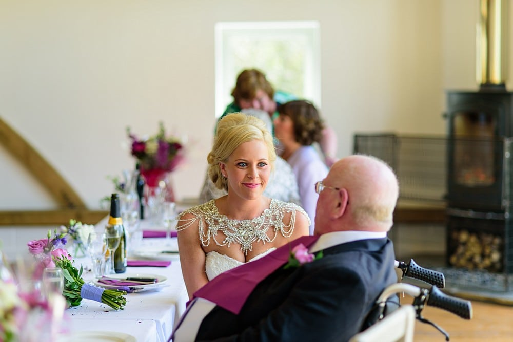 Beautiful moment between a bride and her dad 91
