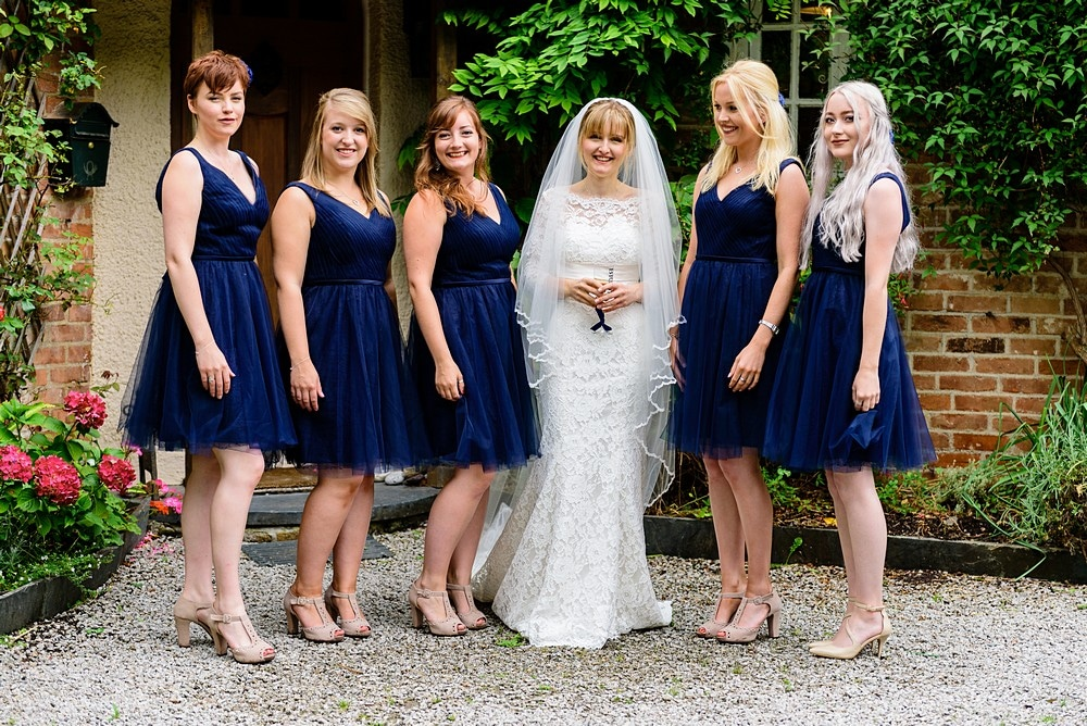Wedding group shots at Prideaux place