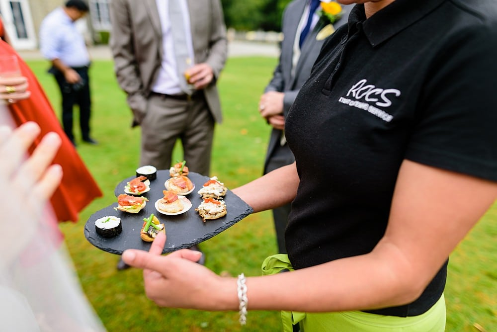 Canapes at Prideaux Place 110