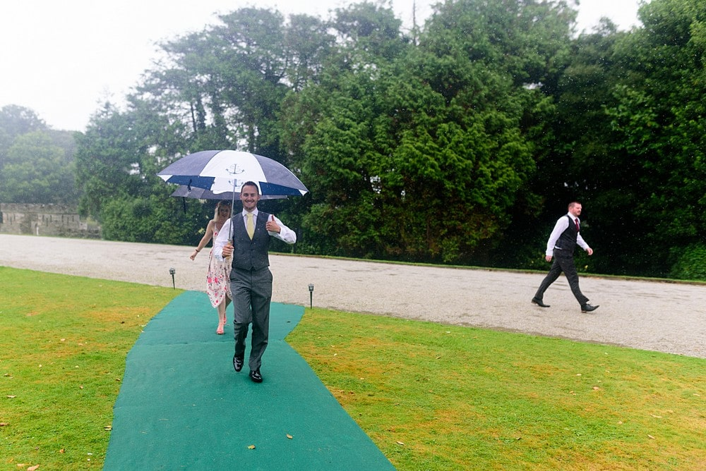 wet wedding at Prideaux Place 126