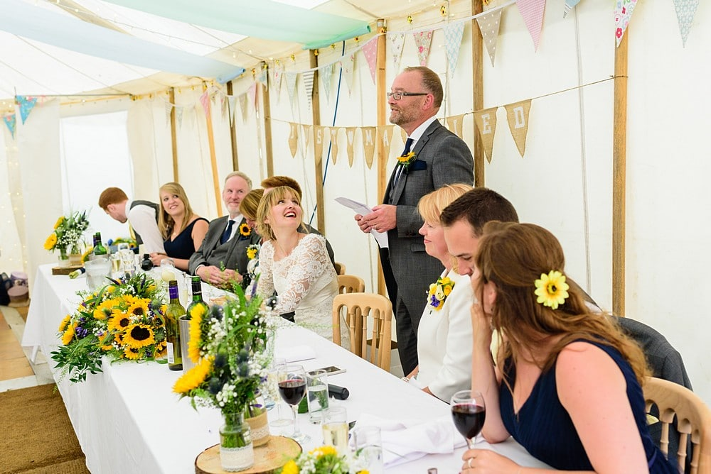 Father of the bride wedding speech at Prideaux Place 127
