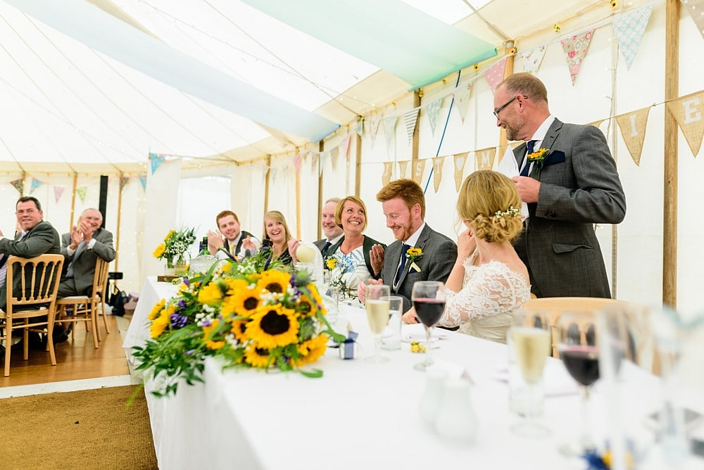 Father of the bride wedding speech at Prideaux Place 128