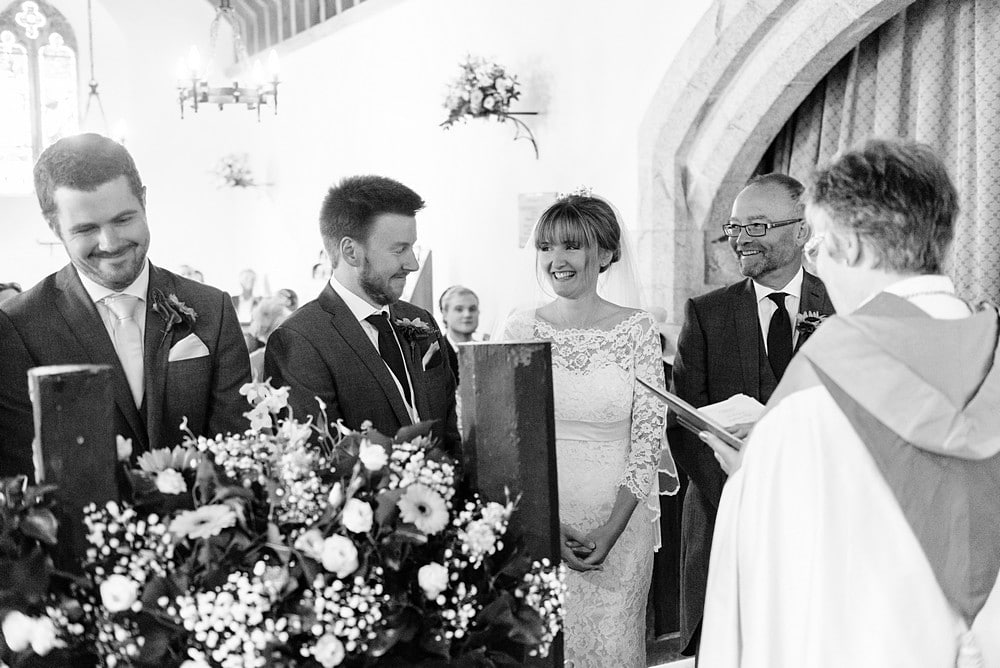 wedding ceremony at St Enodoc's Church 51