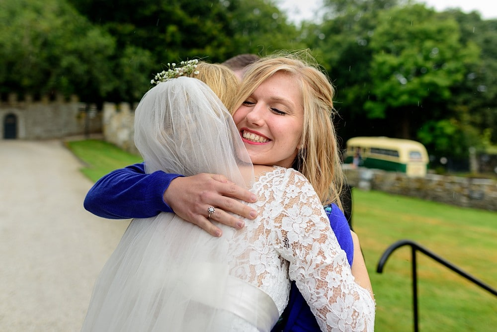 Candid wedding photography at Prideaux Place 98