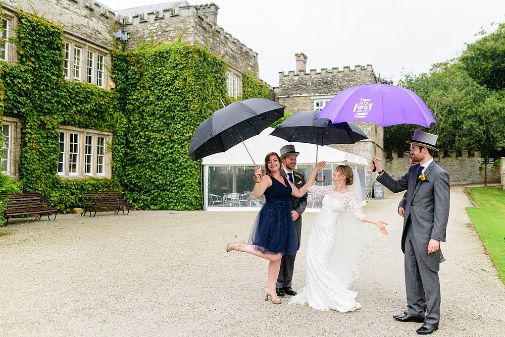 Candid wedding photography at Prideaux Place 99