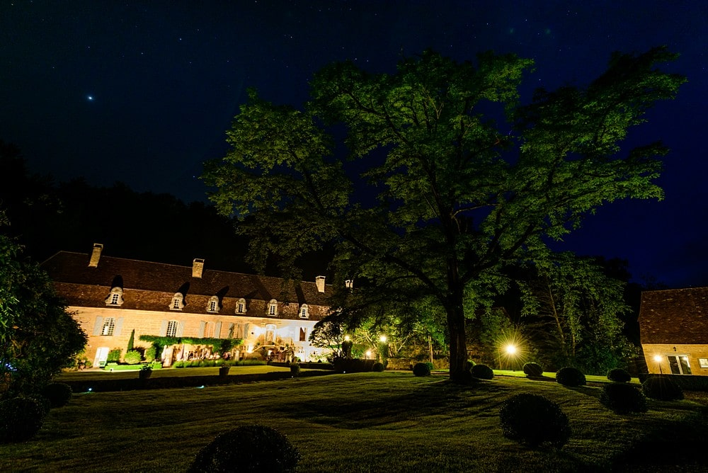 Chateau Forge du Roy at night 103