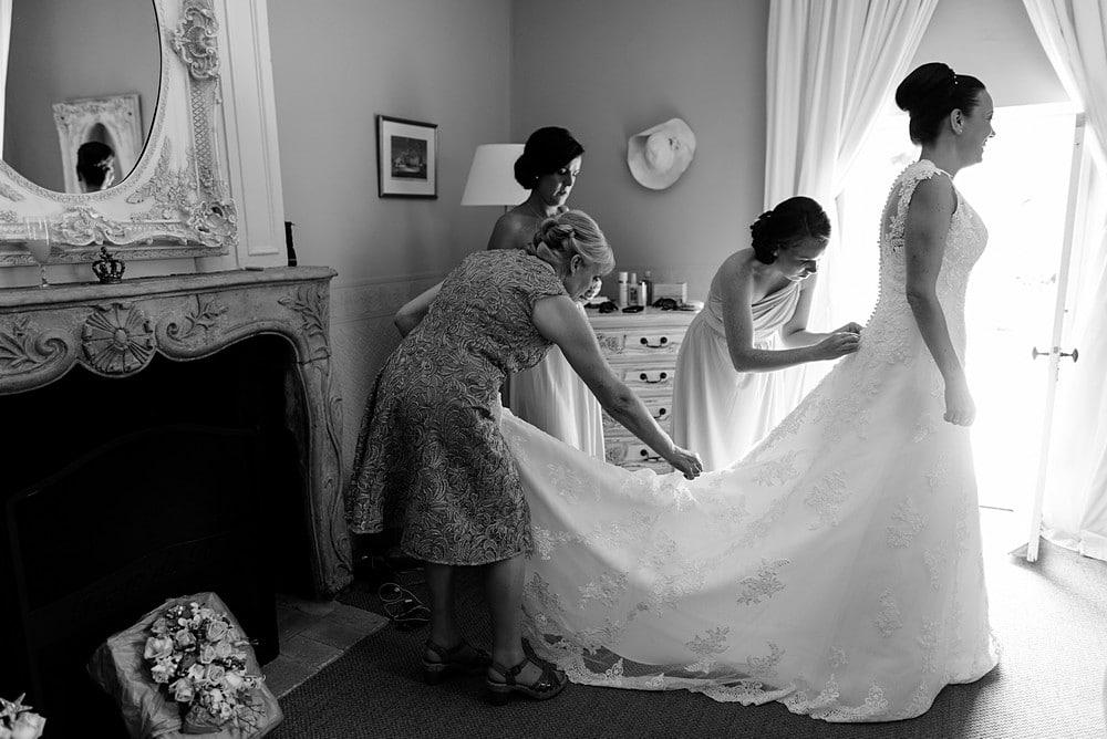 Bridal Suite at Chateau Forge Du Roy