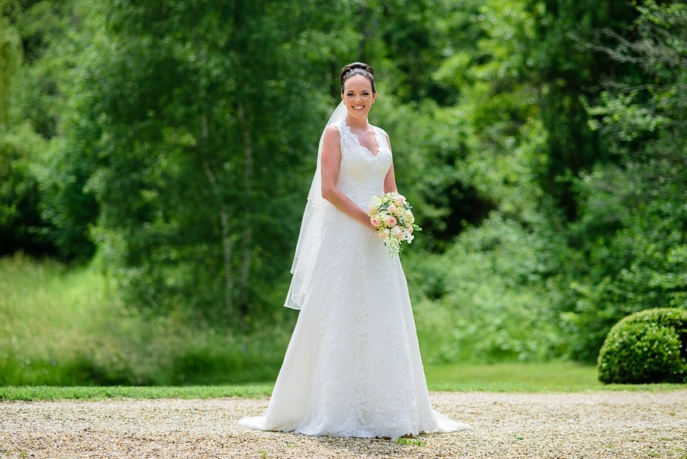Stunning bride at Chateau Forge Du Roy 39
