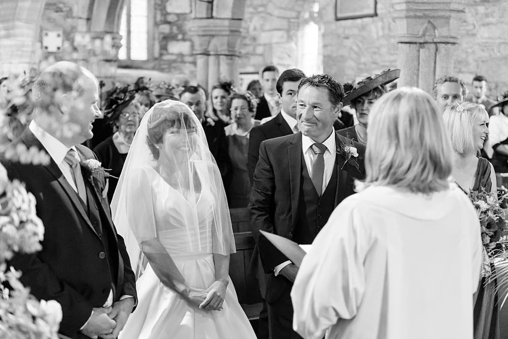 Happy Wedding at Ludgvan Parish Church