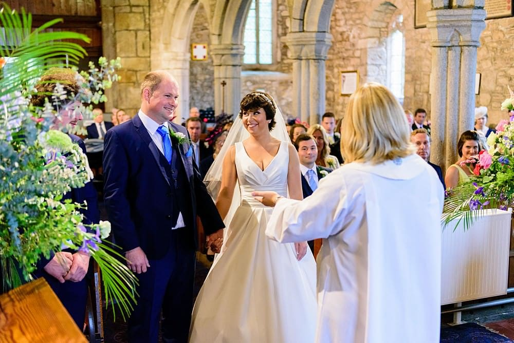 Tying the knot at Ludgvan Parish Church