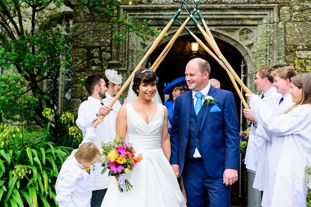 Cornwall Farmer wedding in Cornwall