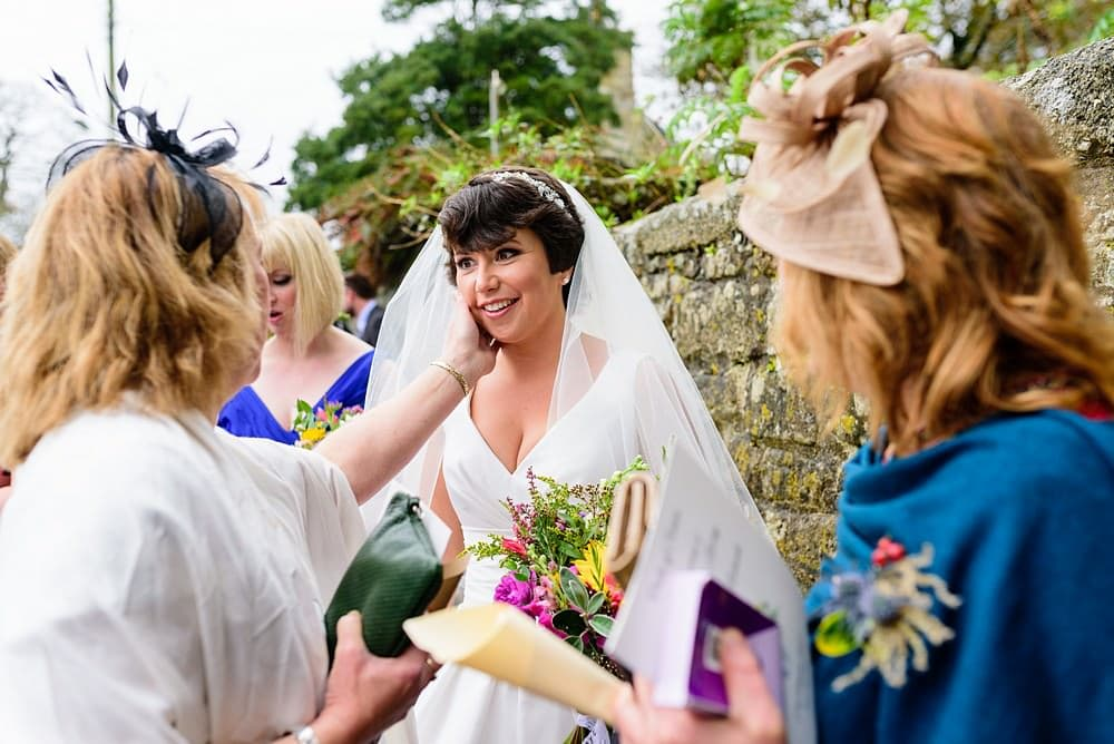 reportage wedding photography in Cornwall