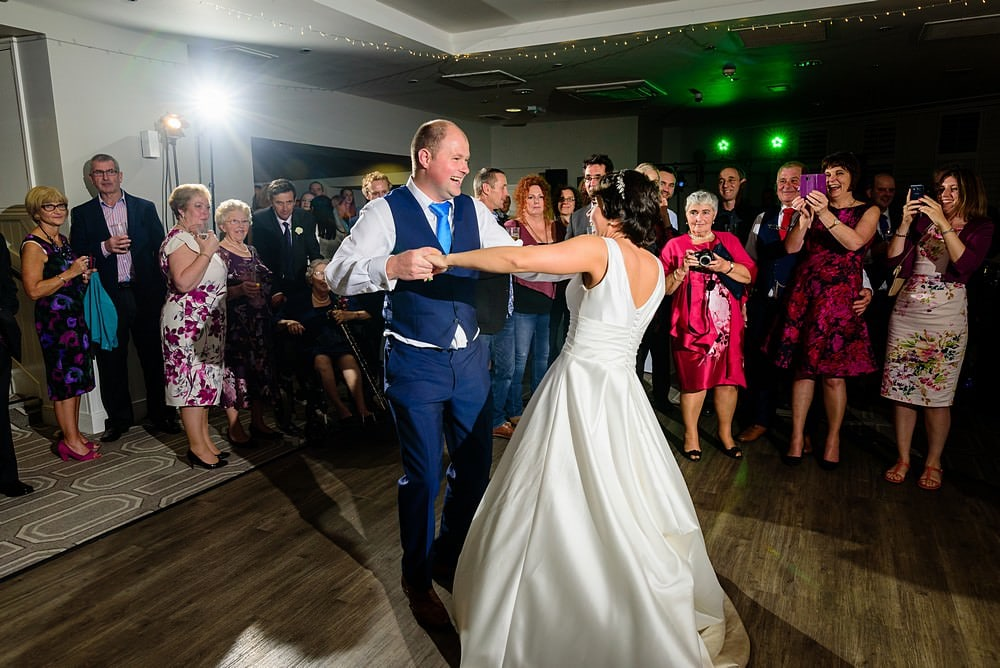 First dance at St Ives Harbour Hotel