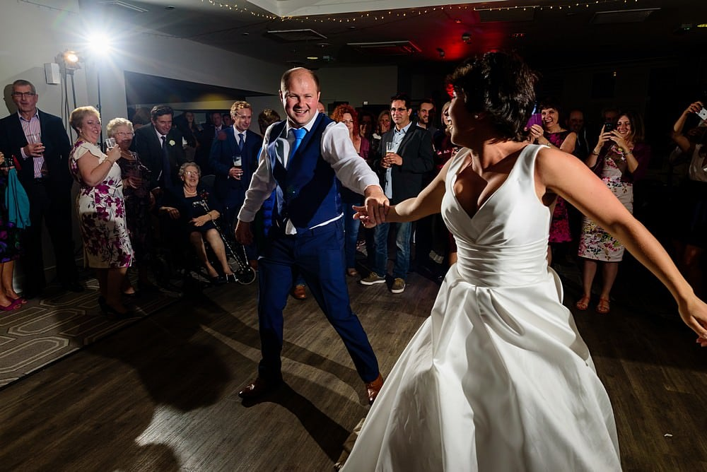 St Ives Harbour Hotel first dance