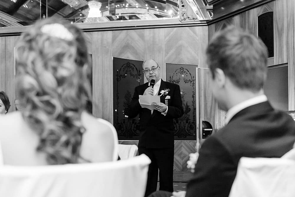 Father of the groom speech at the Zermatterhof