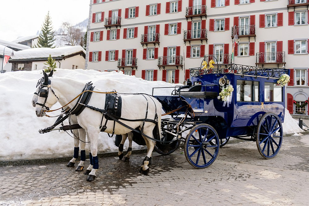 Zermatterhof horse and carriage
