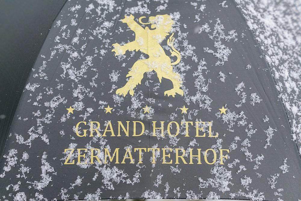 Grand Hotel Zermatterhof umbrella 68