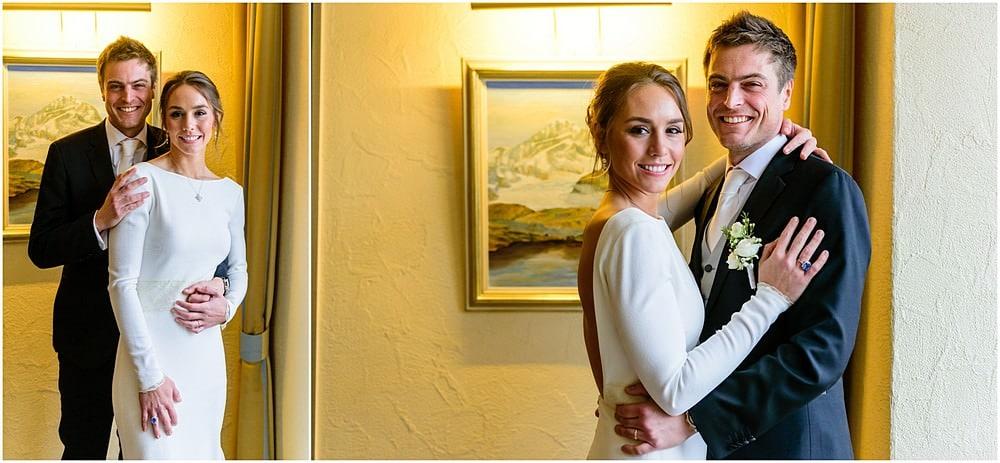 wedding portraits at the Zermatterhof