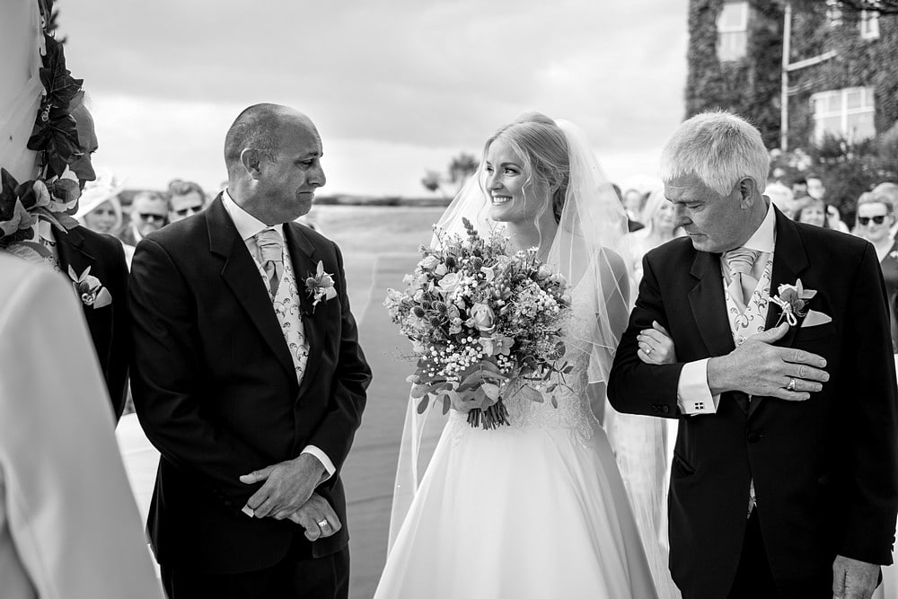 wedding at the Carlyon Bay Hotel