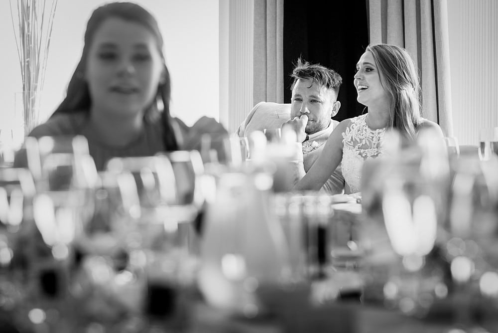 emotional wedding at Carlyon Bay Hotel