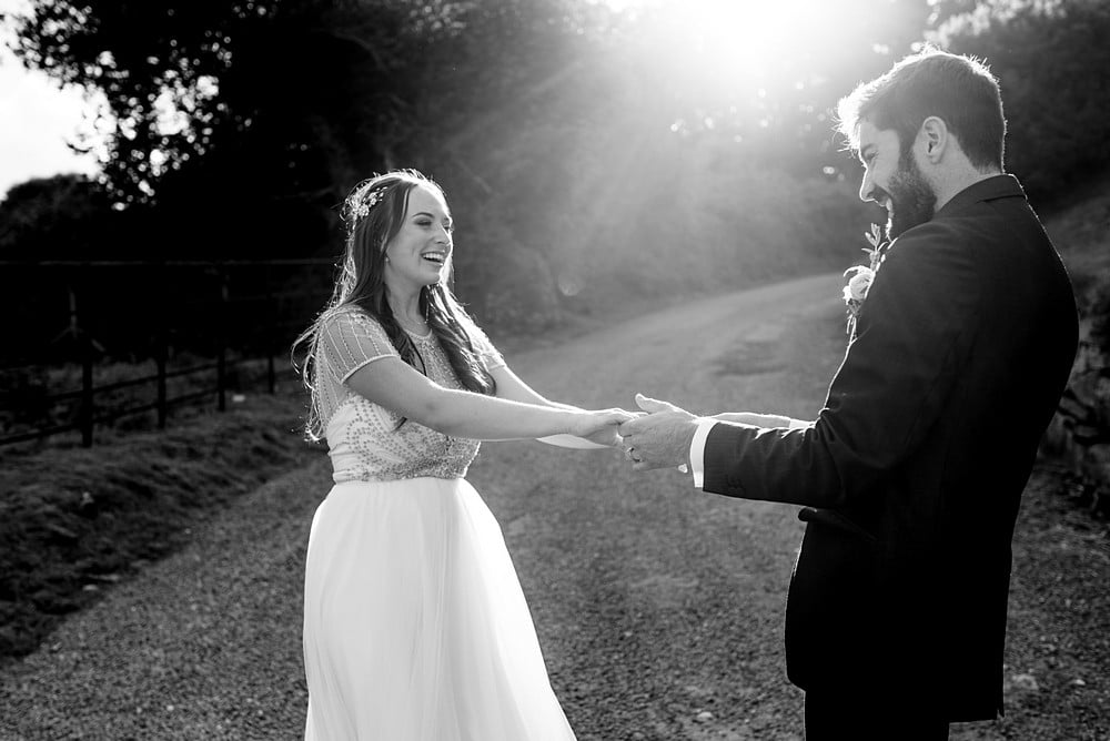 stunning wedding photography at Trevenna barns