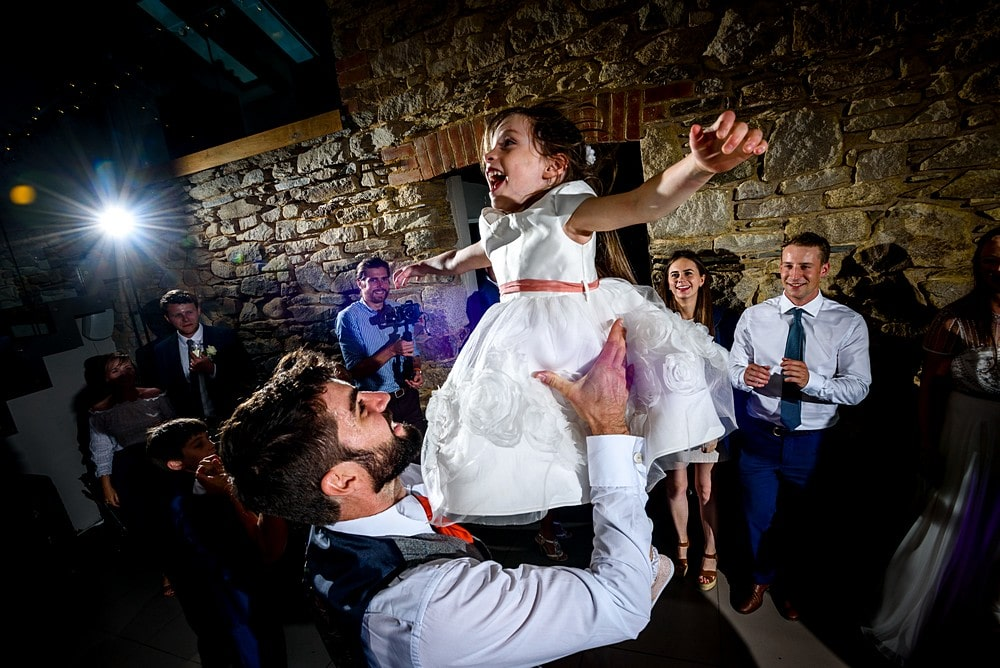 epic dance floor photography in cornwall