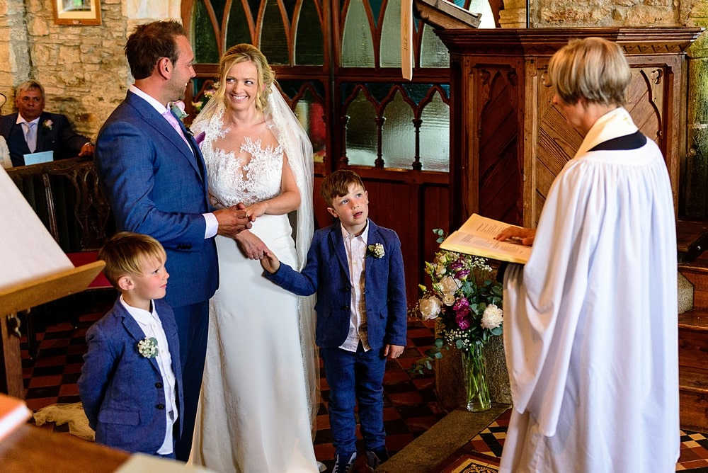church wedding in Cornwall