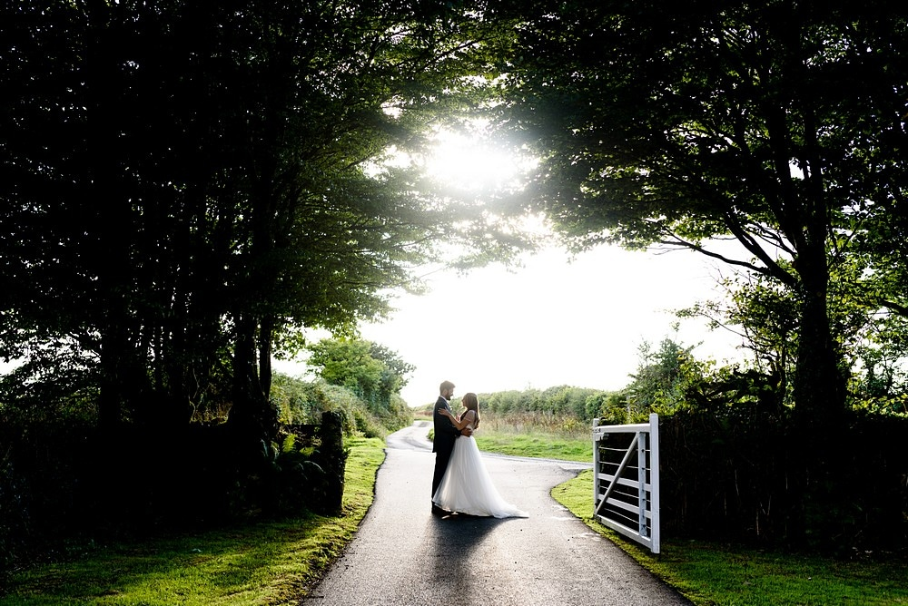 wedding photography at Trevenna Barns
