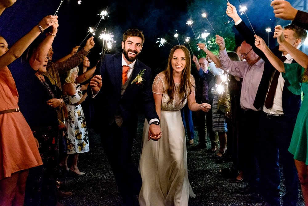 sparkler photography in cornwall