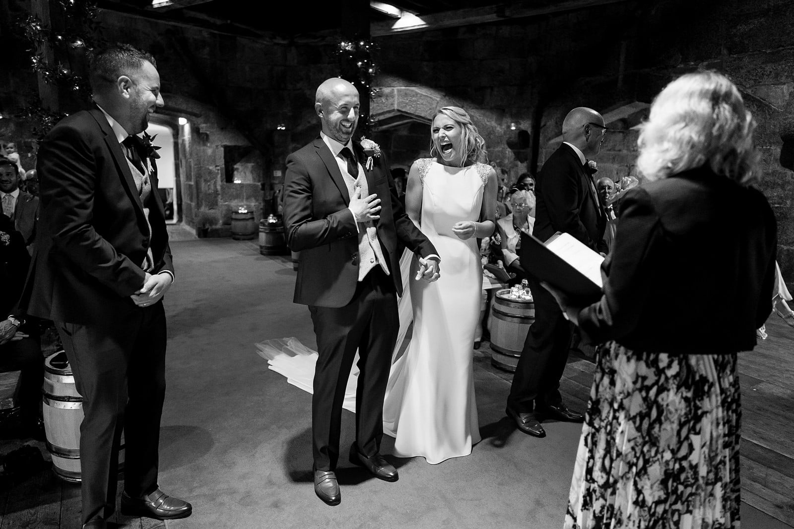 best of 2019 - Pendennis Castle wedding photographer 068