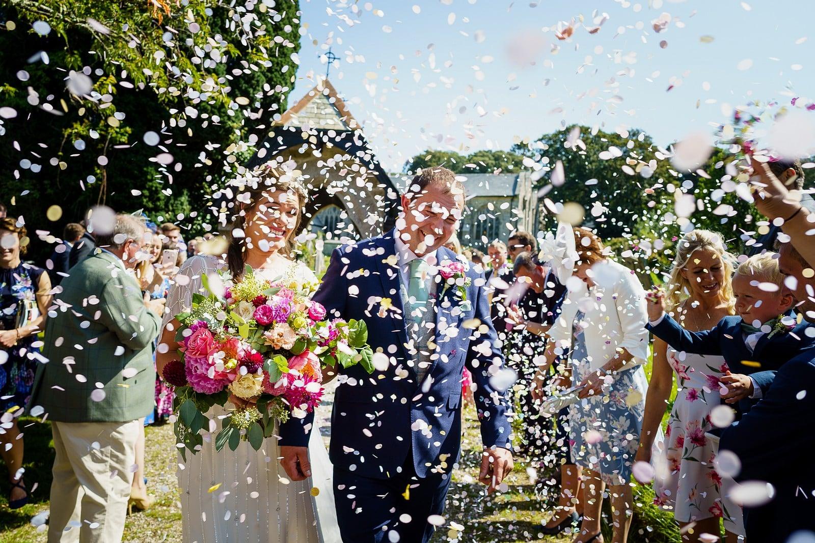 best of 2019 - confetti wedding in cornwall 025