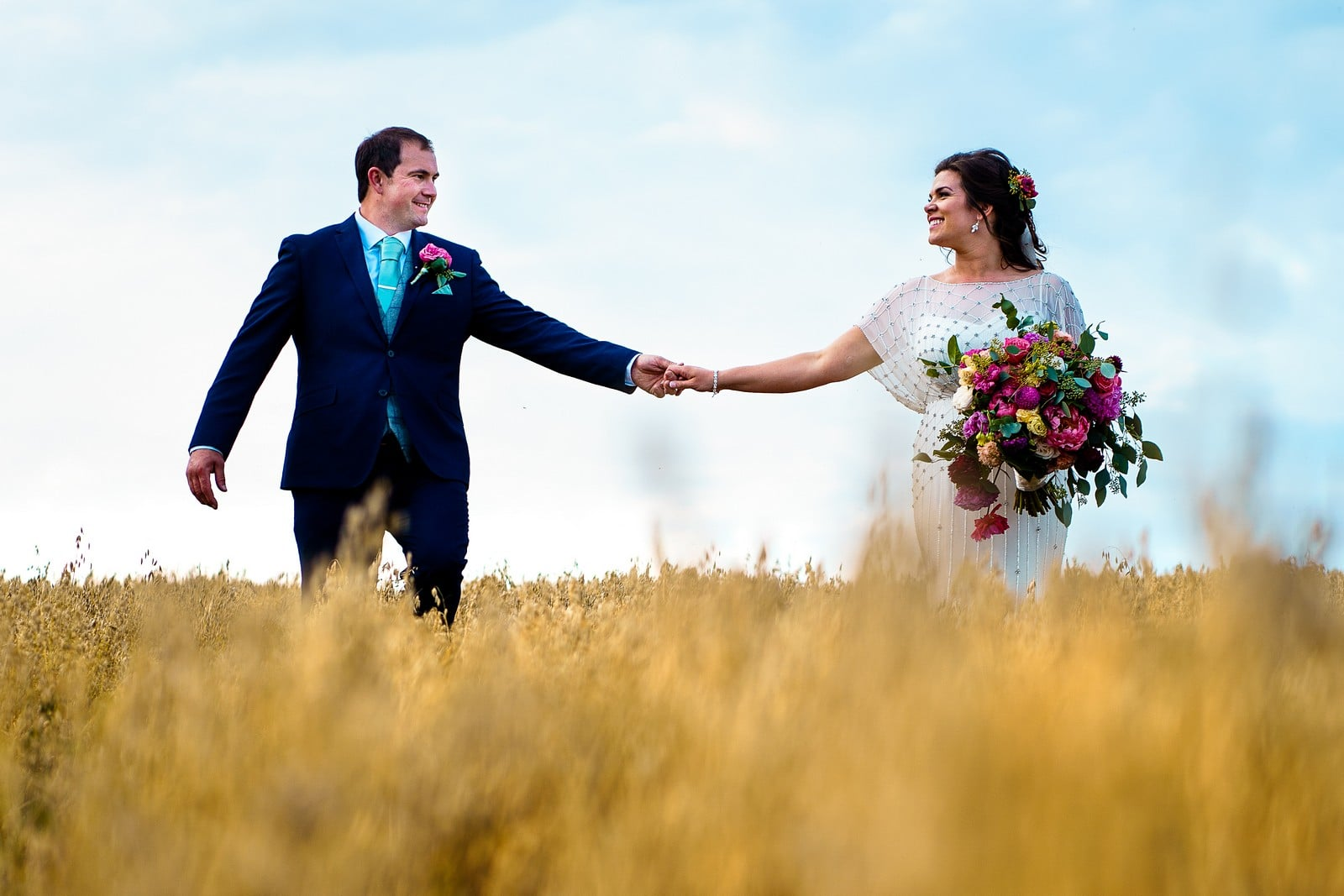 best of 2019 - young farmer wedding in cornwall 097