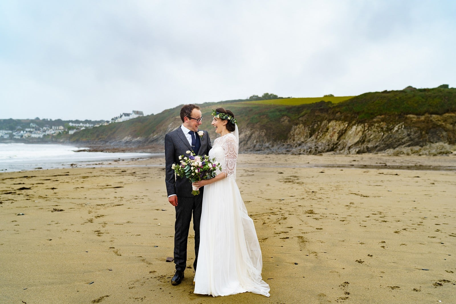 Beach wedding photography at the rosevine hotel 2