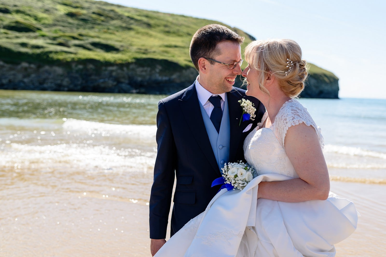 small wedding in Cornwall